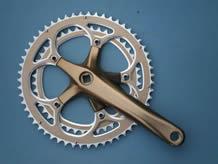 自行车配件产品折叠车链轮曲柄2
