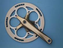 自行车配件产品折叠车链轮曲柄4